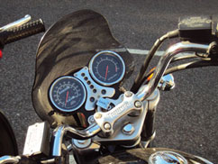 Triumph Motorcycle Lock reminder