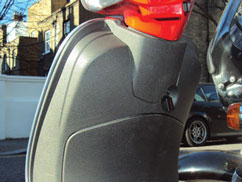 Vespa Scooters Disc lock Reminders