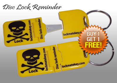 Metal Tip Disc Lock Reminder