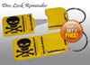Yellow Metal Tip Disc Lock Reminder