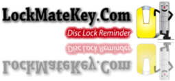 Disc Lock Reminder Motorcycle Accessories