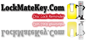Disc lock reminder by Lock Mate Key motorcycle accessories