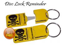 LockMateKey 'disc lock reminder'